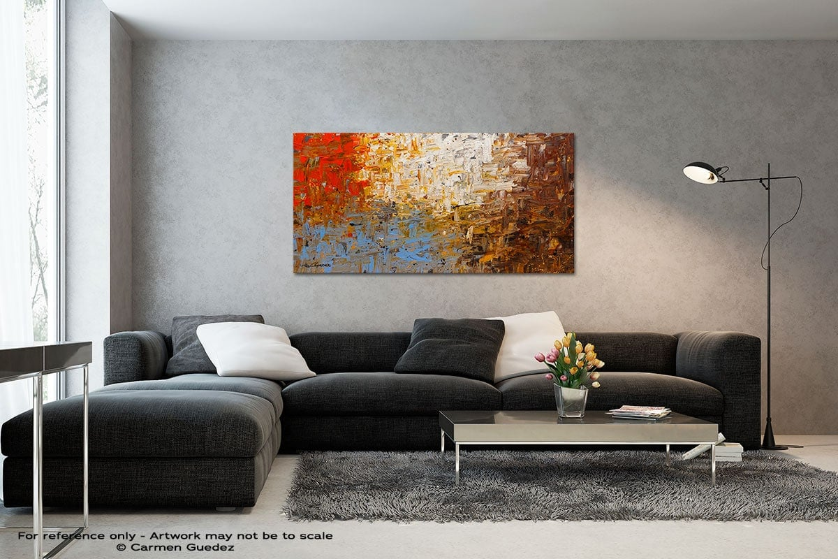 A Day To Remember Black And White Wall Abstract Art Painting Id70