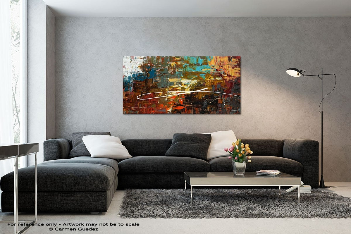 A Dream Come True Black And White Wall Abstract Art Painting Id70
