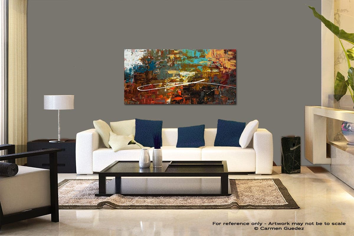 A Dream Come True Modern Abstract Art Painting Living Room Id37