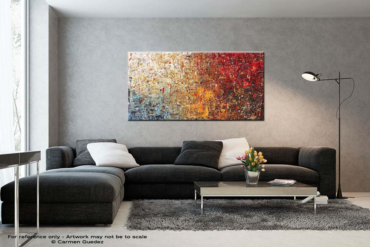 A Moment To Remember Black And White Wall Abstract Art Painting Id70