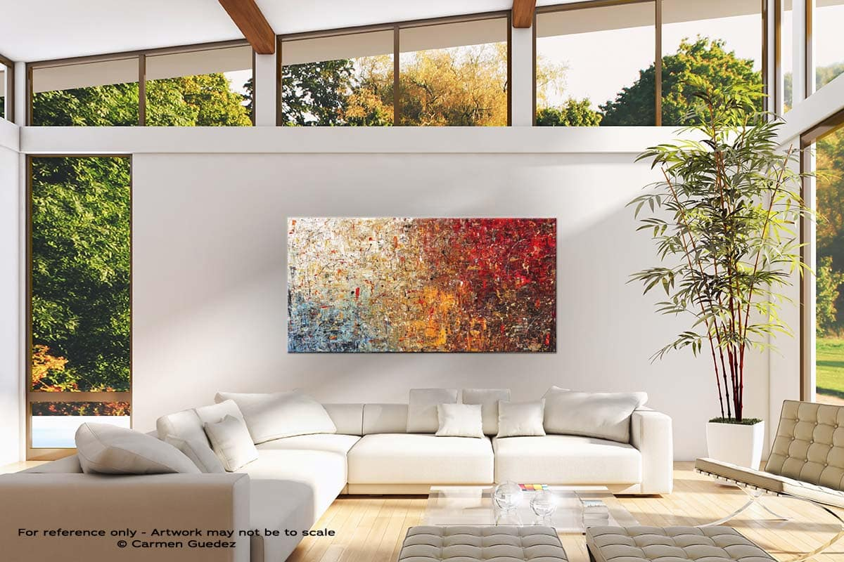 A Moment To Remember Modern Canvas Abstract Art Id38