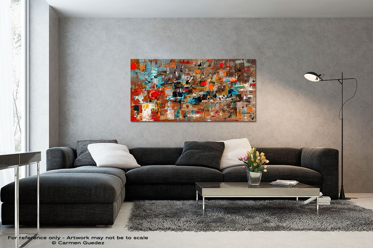 Abstract Celebration Black And White Wall Abstract Art Painting Id70
