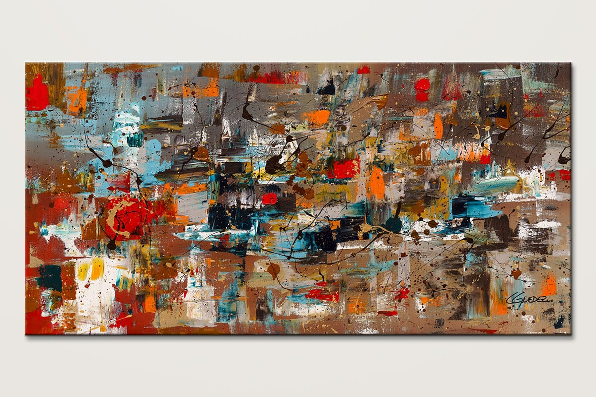 Modern Colorful Art Painting Abstract