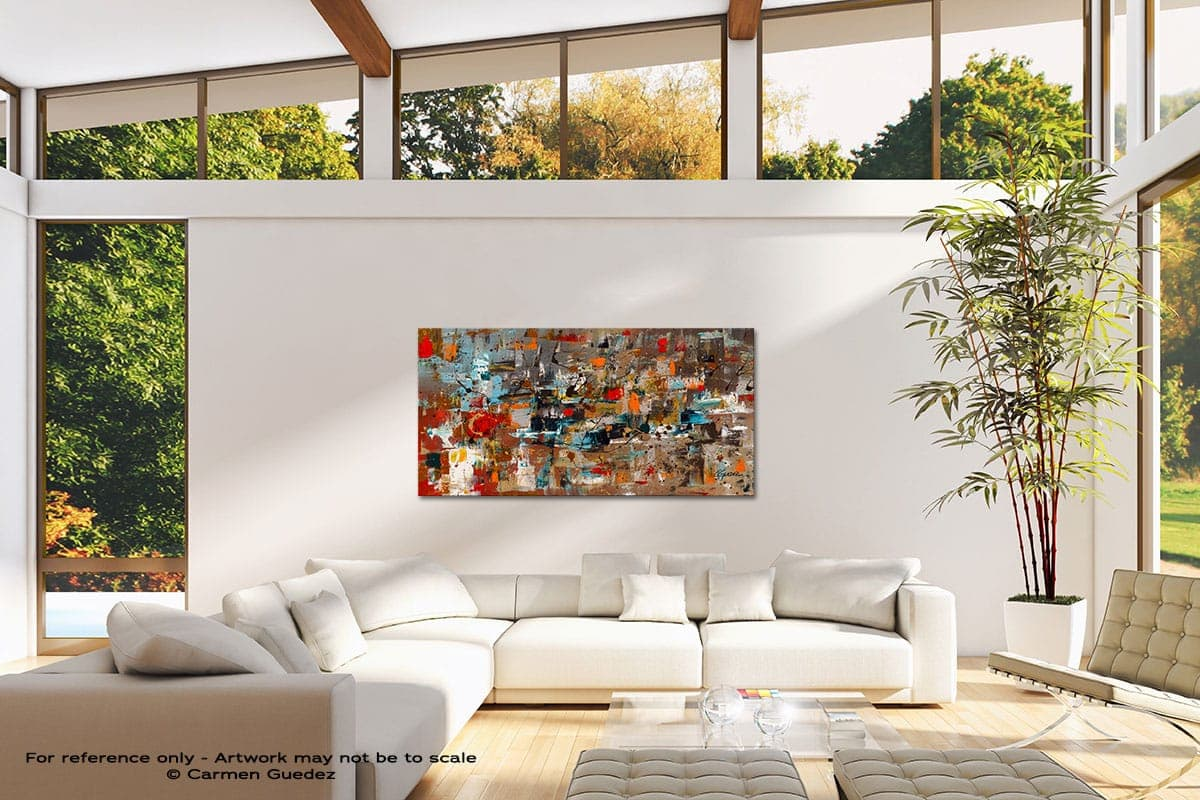 Abstract Celebration Modern Canvas Abstract Art Id38