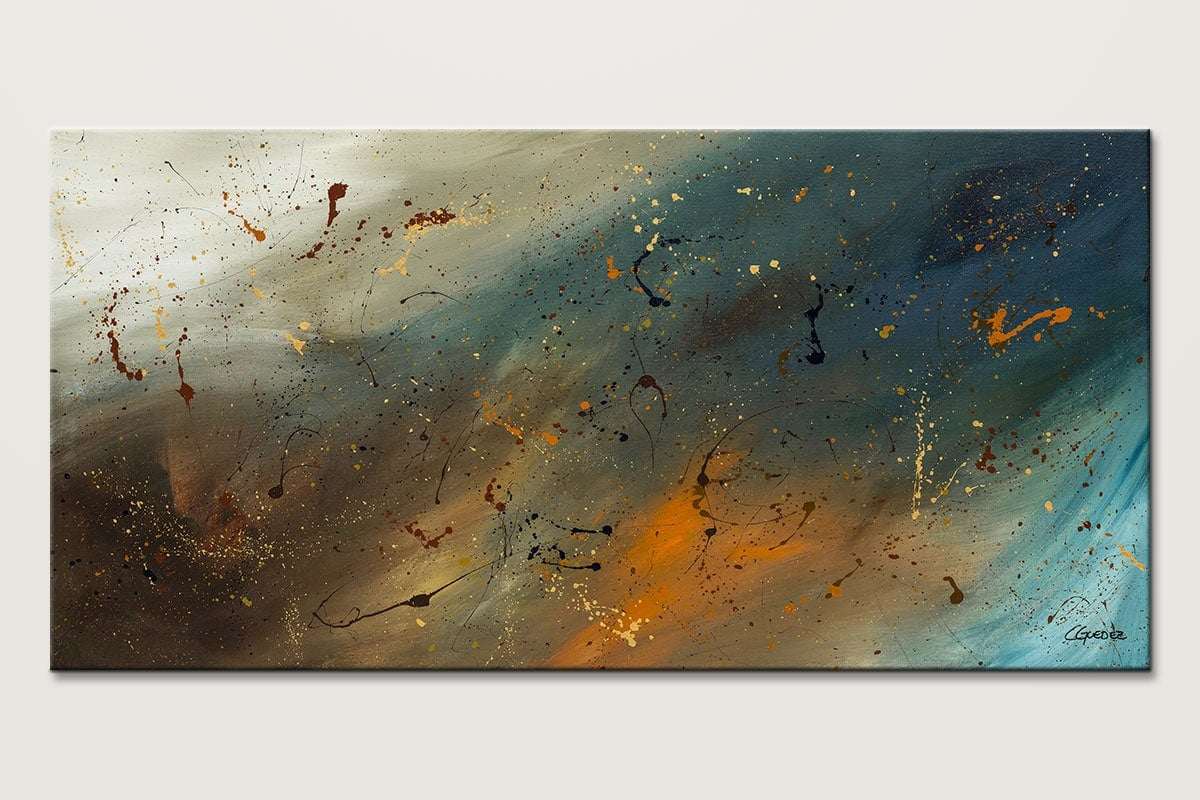 Abstract Sensation Canvas Wall Art Painting Id80 1