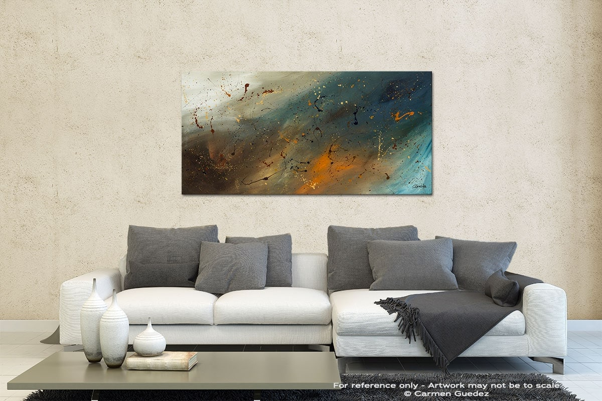 Abstract Sensation Contemporary Abstract Art Id35
