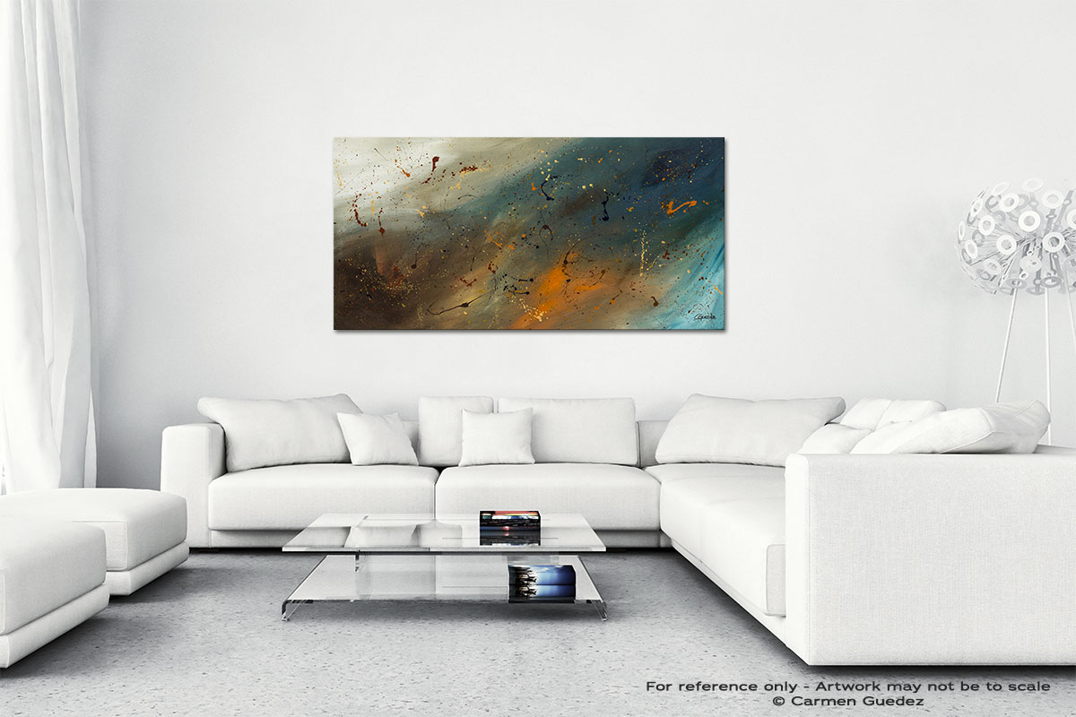 Abstract Sensation Wall Art Canvas Painting Id40