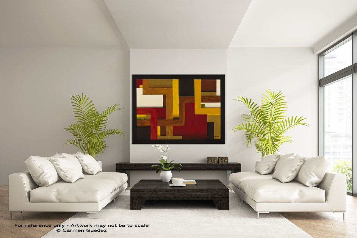 Abstract Wall Art Painting Id28 Fortaleza