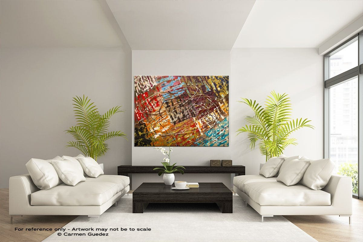 Abstract Wall Art Painting Id28 Le Monde