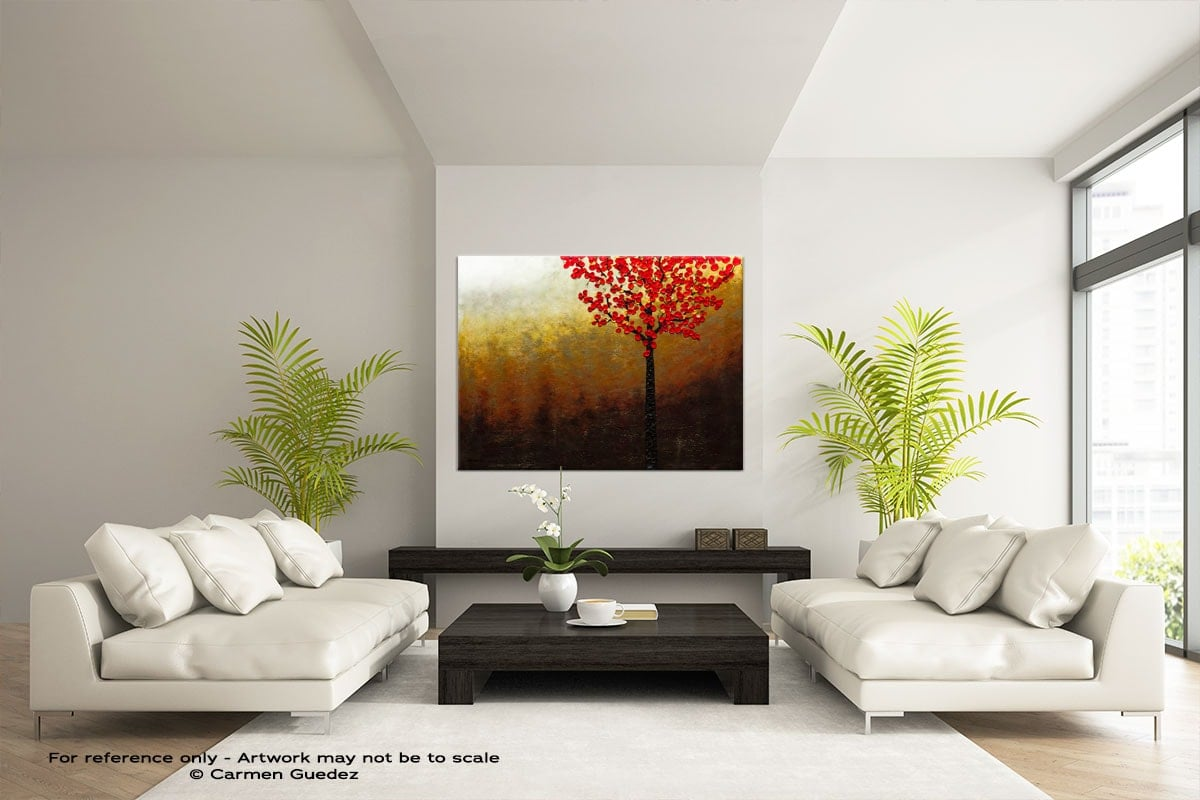 Abstract Wall Art Painting Id28 Top Of The Hill