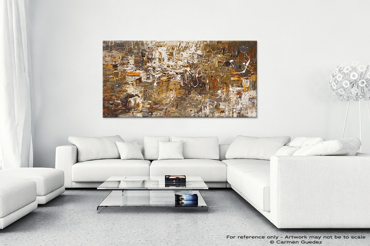 Abstract Wall Art Painting On Canvas Id1 Above And Beyond