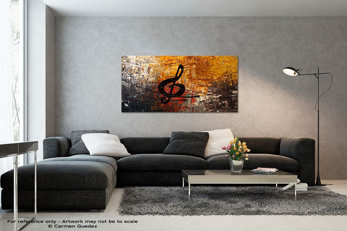 Affrettando Black And White Wall Abstract Art Painting Id70