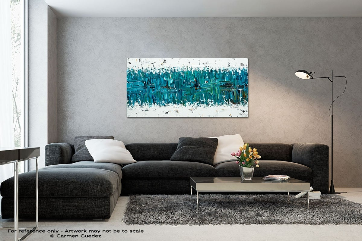 All In Black And White Wall Abstract Art Painting Id70
