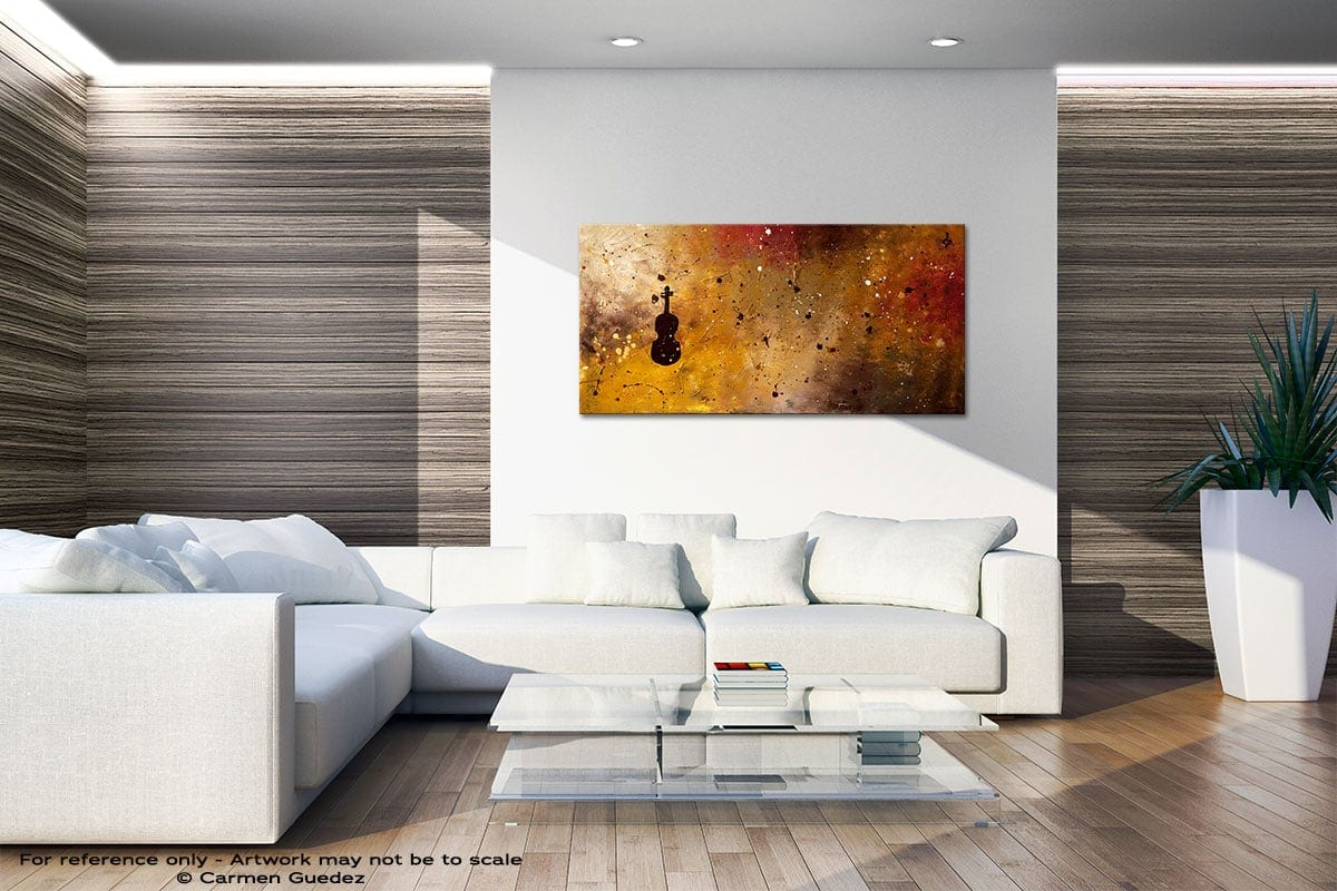 Allegro Con Brio Large Abstract Art Id36