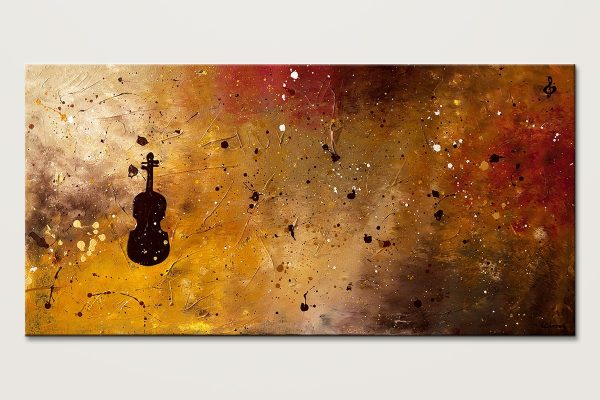 Allegro Con Brio Large Music Abstract Art Id80 1