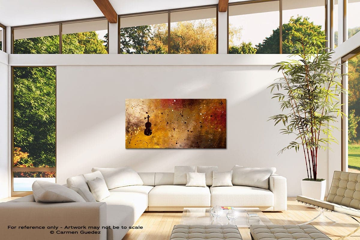 Allegro Con Brio Modern Canvas Abstract Art Id38