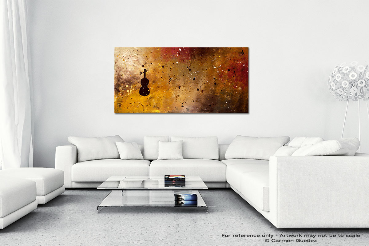 Allegro Con Brio Wall Art Canvas Painting Id40