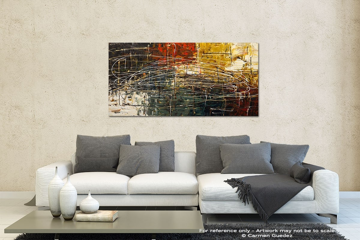 Along The Way Contemporary Abstract Art Id35