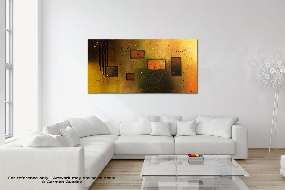 Architectural Design Original Neutral Abstract Wall Art Room Id39