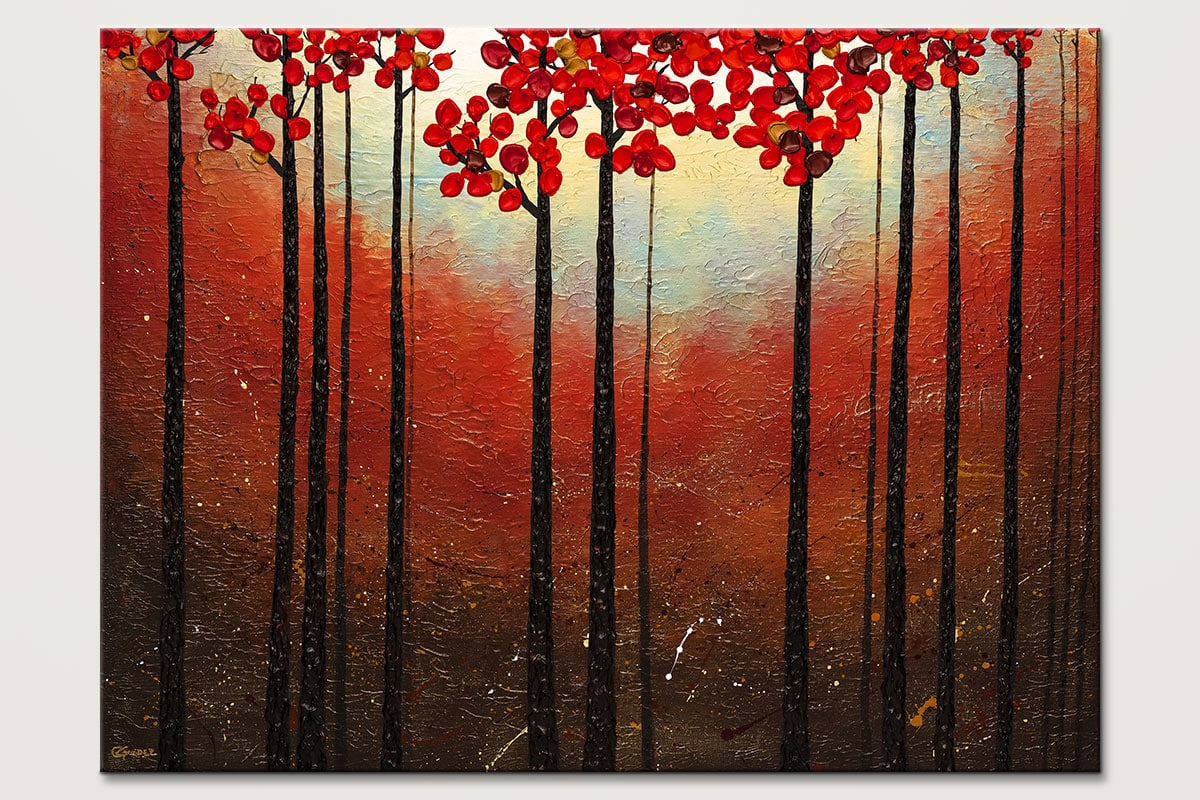 Aroma do Campo - Abstract Art Painting Image by Carmen Guedez