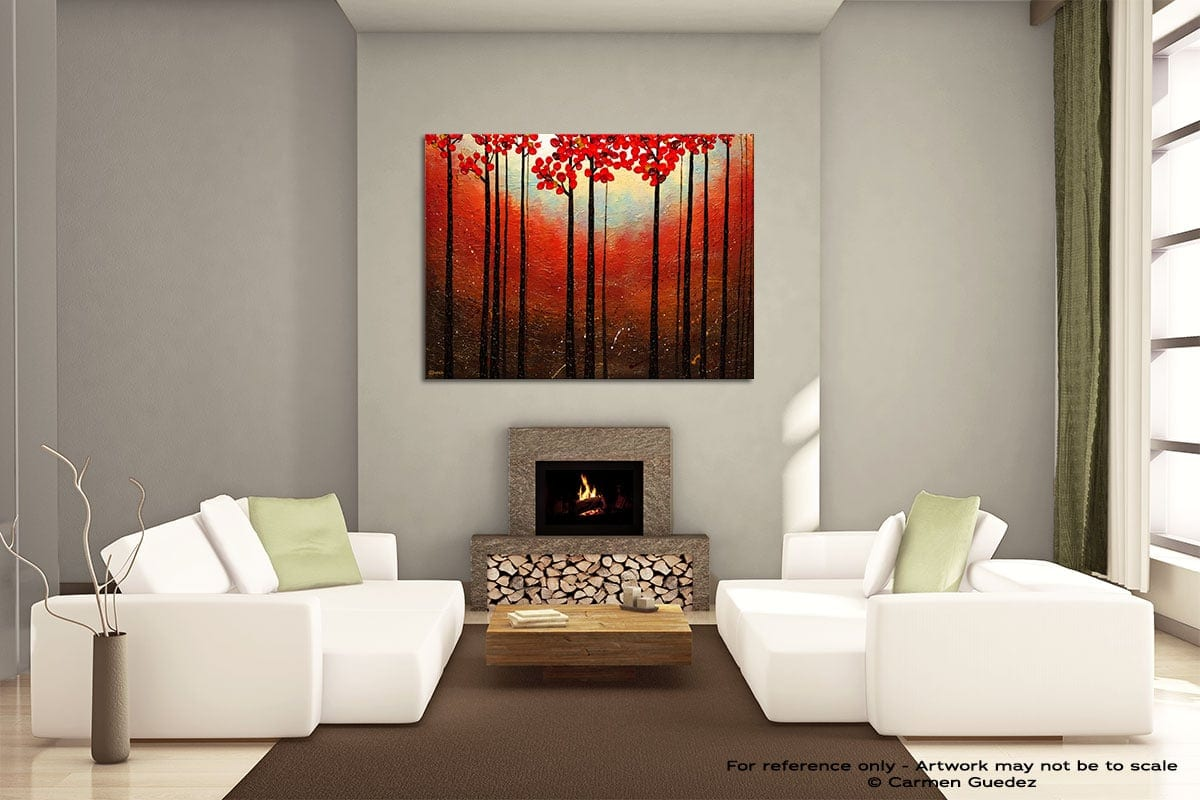 Aroma Do Campo Painting On Canvas Large Living Room Id52