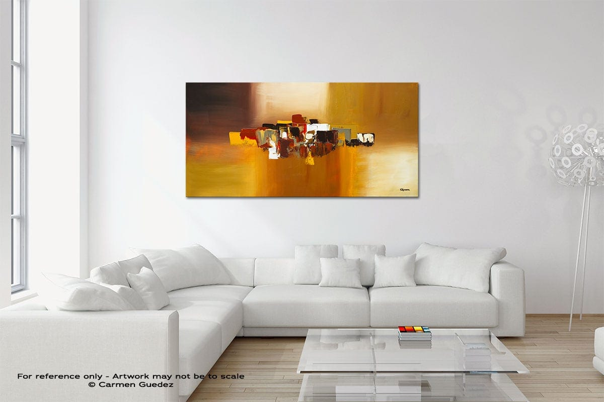 Astratto Original Neutral Abstract Wall Art Room Id39