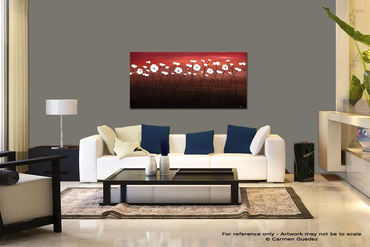 Atardecer Modern Abstract Art Painting Living Room Id37