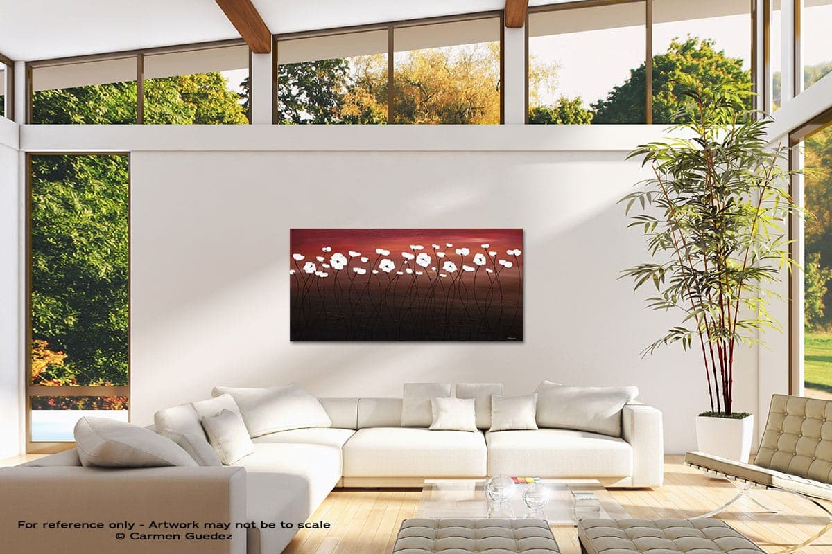 Atardecer Modern Canvas Abstract Art Id38