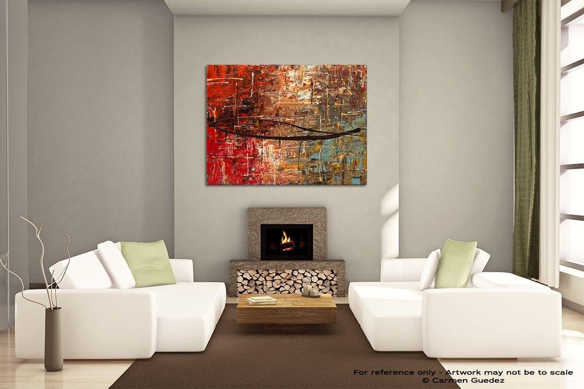 Autumn Painting On Canvas Large Living Room Id52