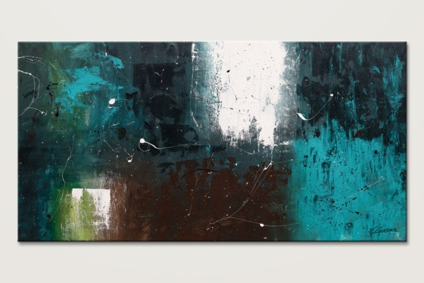 Awakening Oversized Abstract Art Painting Id80