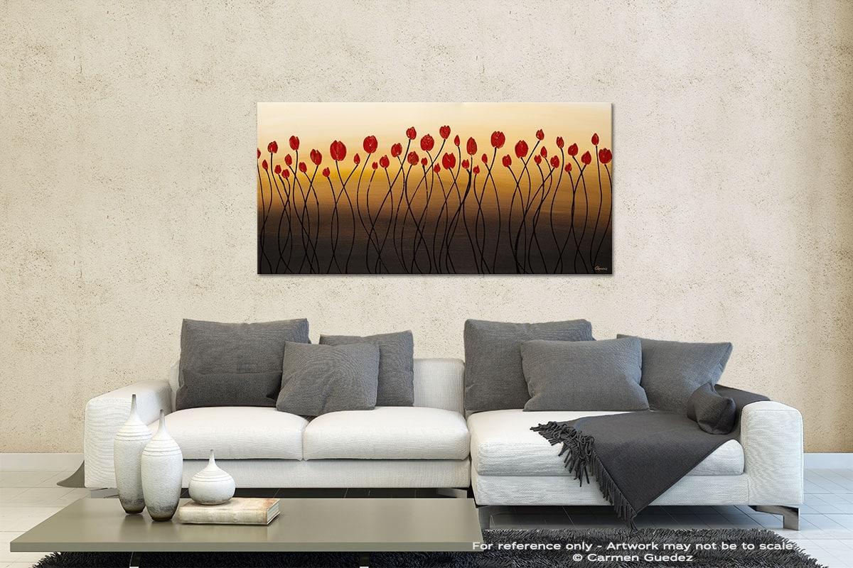 Bella Flora Contemporary Abstract Art Id35