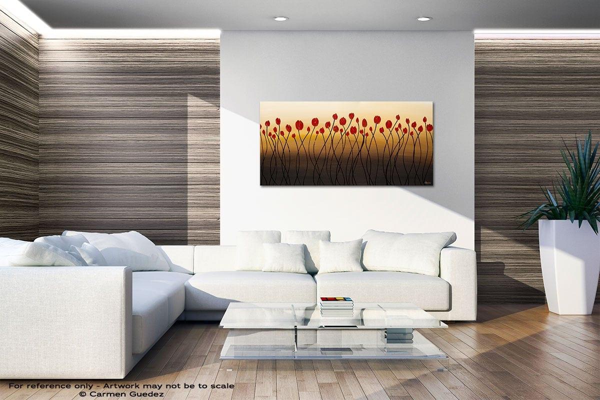 Bella Flora Large Abstract Art Id36