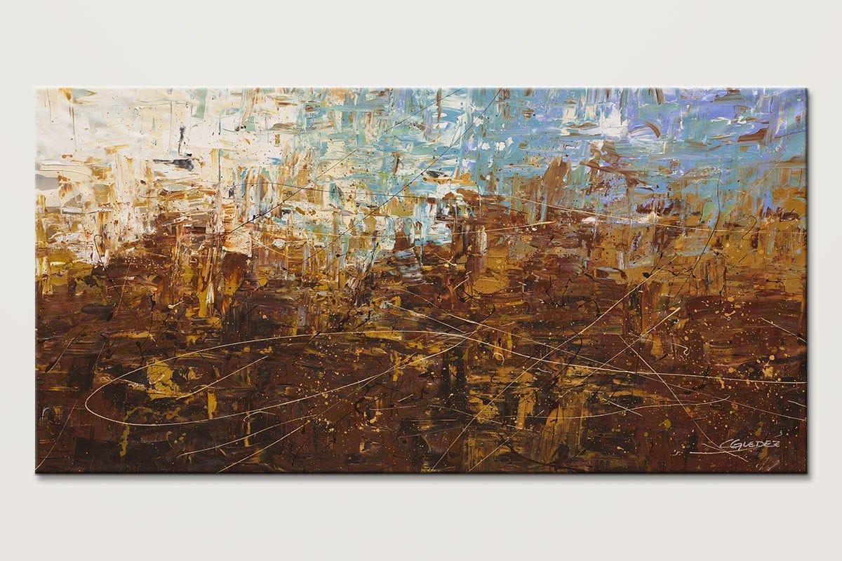 Benvenuto Large Mid Century Abstract Art Id80