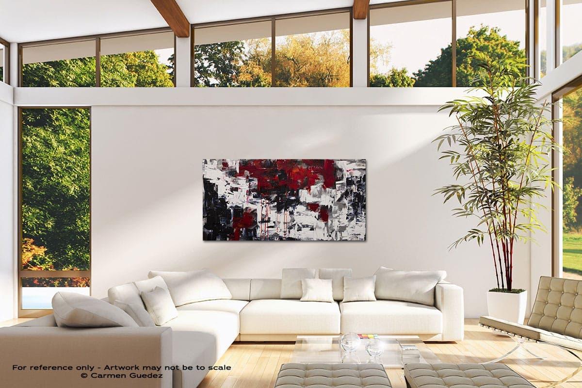 Beyond The Horizon Modern Canvas Abstract Art Id38