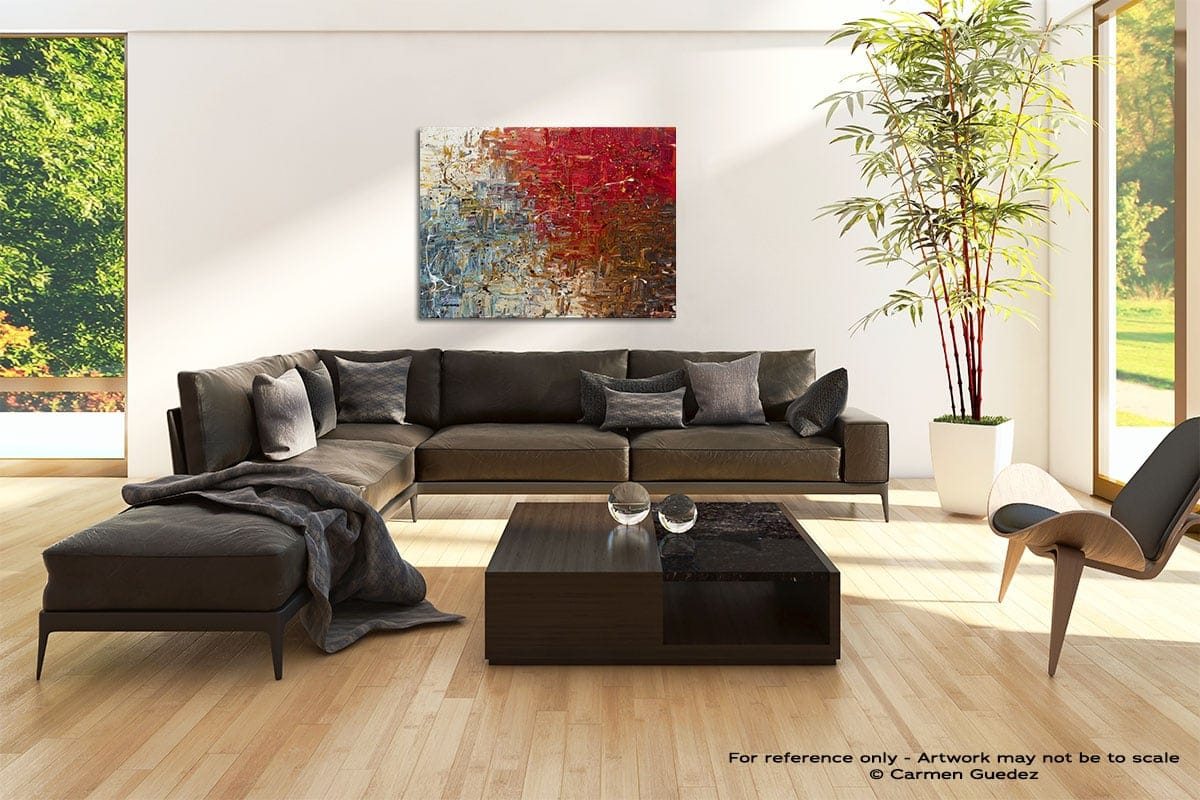Big Bang Abstract Painting Modern Home Id69
