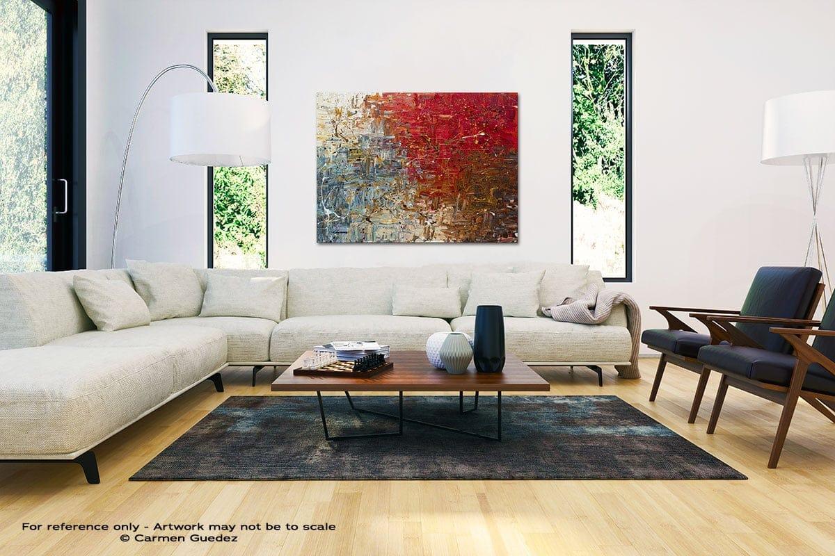 Big Bang Black And White Interior Decor Abstract Art Id46
