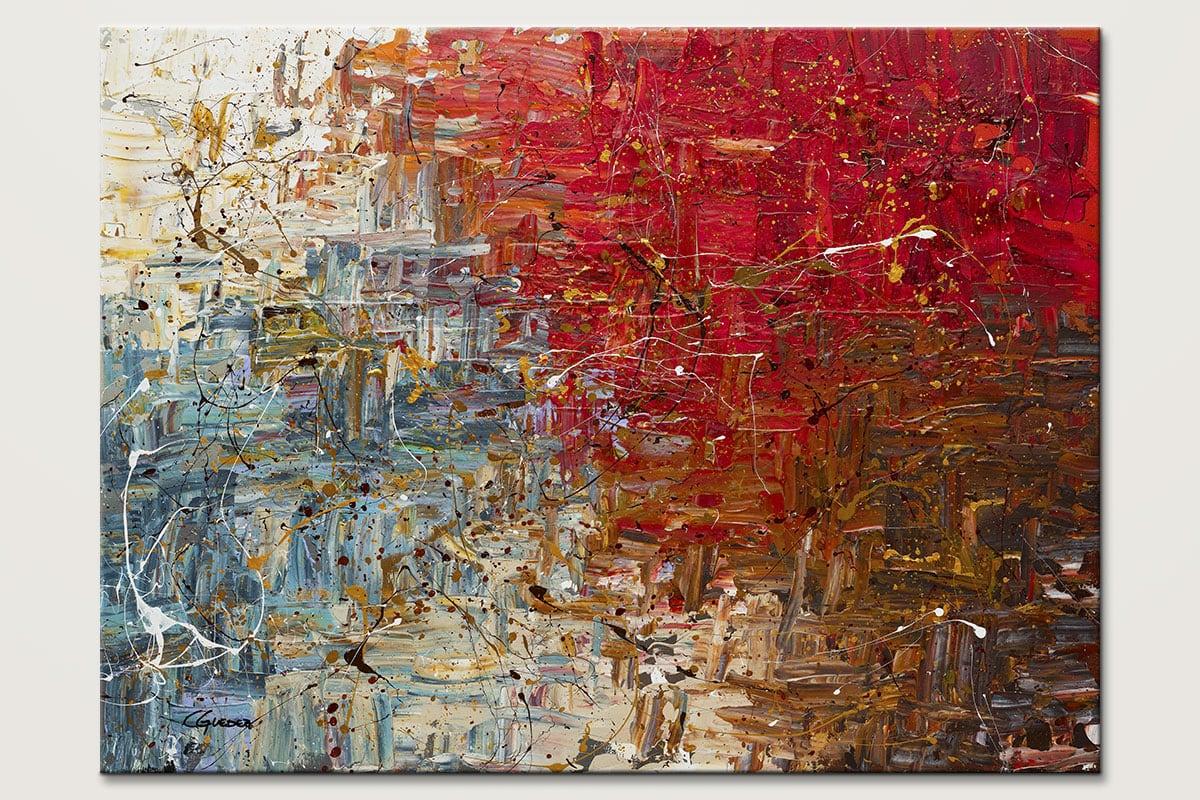 Big Bang Large Abstract Art Painting Id80