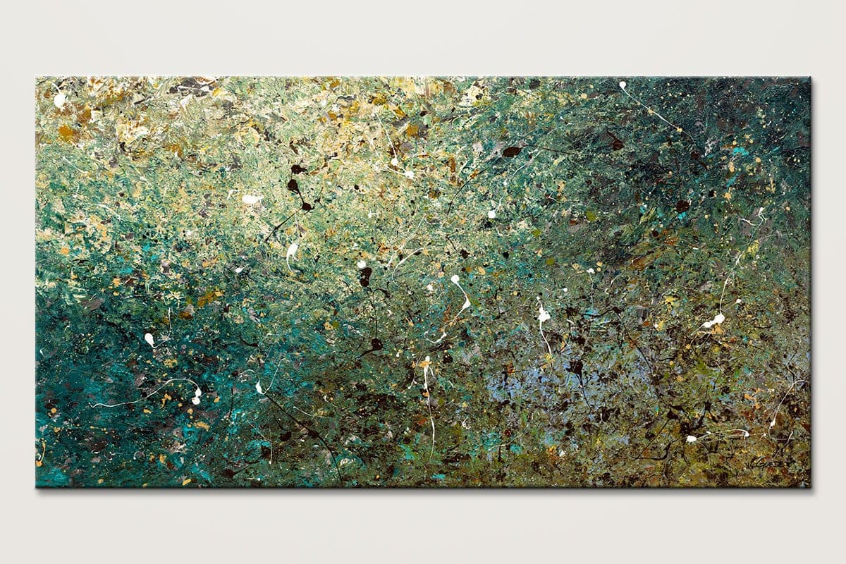 Large Abstract Art Big Universe - Huge Oversized Abstract Painting ...