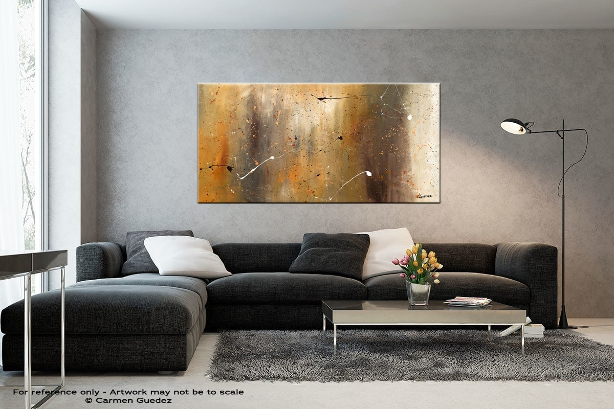Bird And Waterfall Black And White Abstract Art Living Room Id2