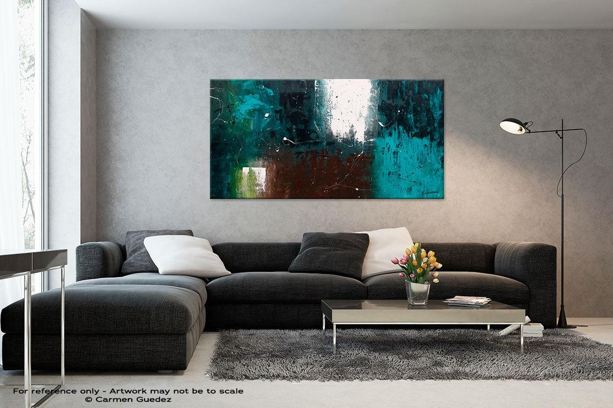 Black And White Abstract Art Living Room Id2 Awakening
