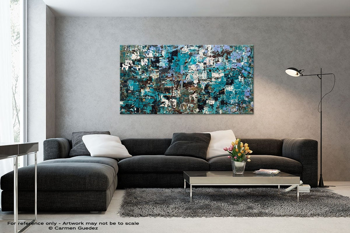 Black And White Abstract Art Living Room Id2 Beach And Mountains