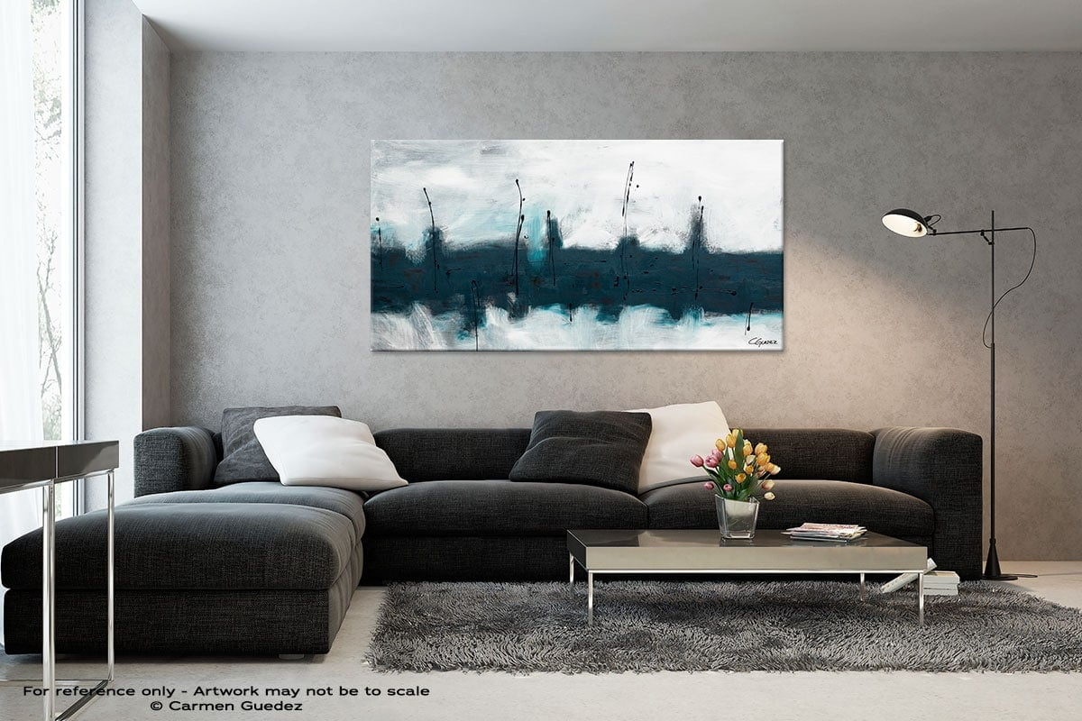Black And White Abstract Art Living Room Id2 Blue Harbour