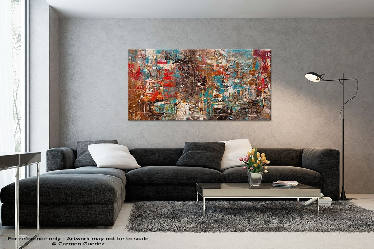 Black And White Abstract Art Living Room Id2 Cant Stop