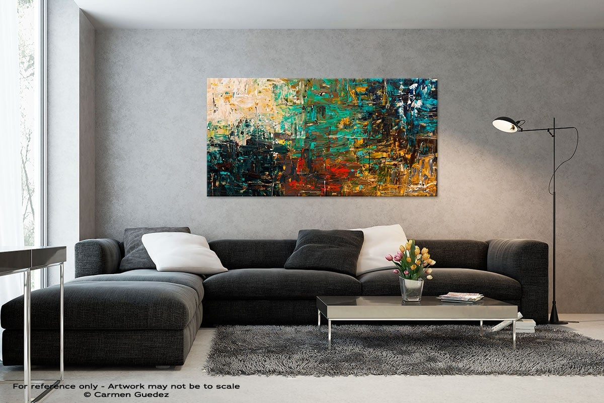 Black And White Abstract Art Living Room Id2 City Life