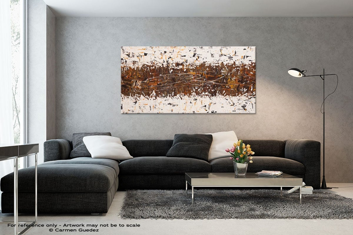 Black And White Abstract Art Living Room Id2 Crossover