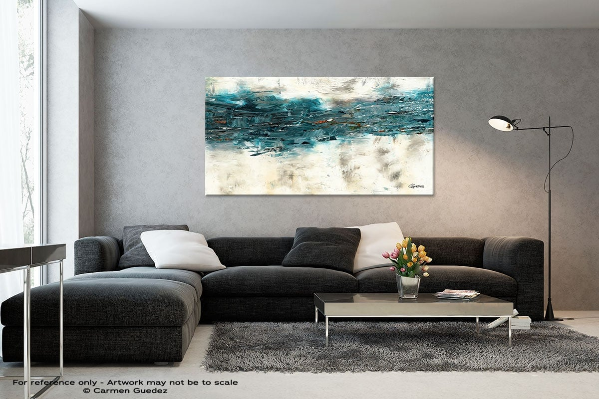 Black And White Abstract Art Living Room Id2 High Tide