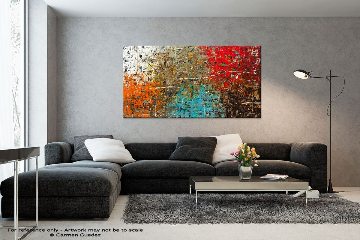 Black And White Abstract Art Living Room Id2 Now Or Never