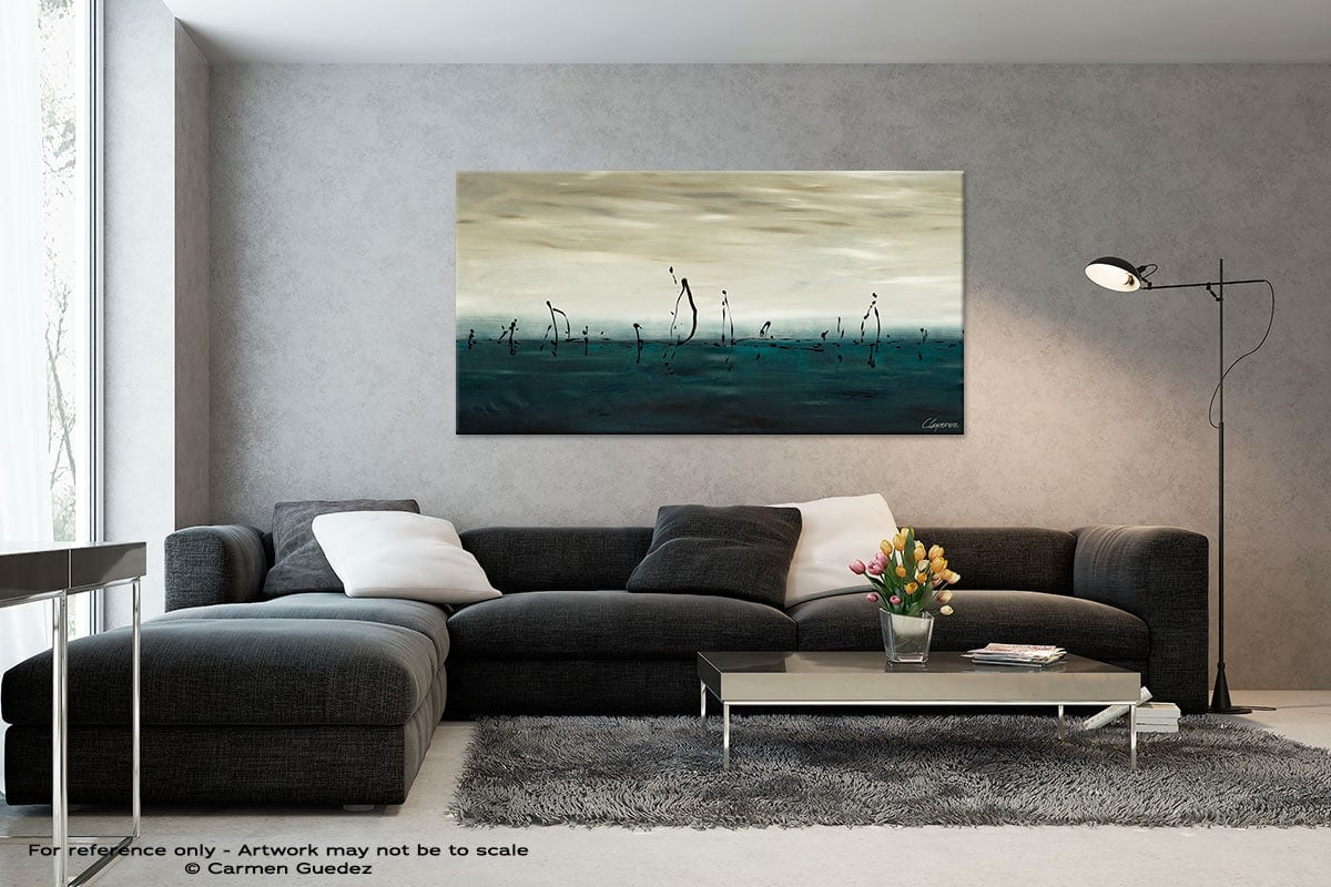 Black And White Abstract Art Living Room Id2 Sailing