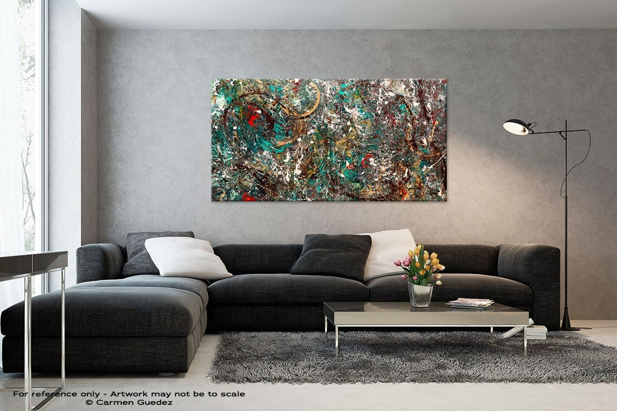 Black And White Abstract Art Living Room Id2 The Gold Ring