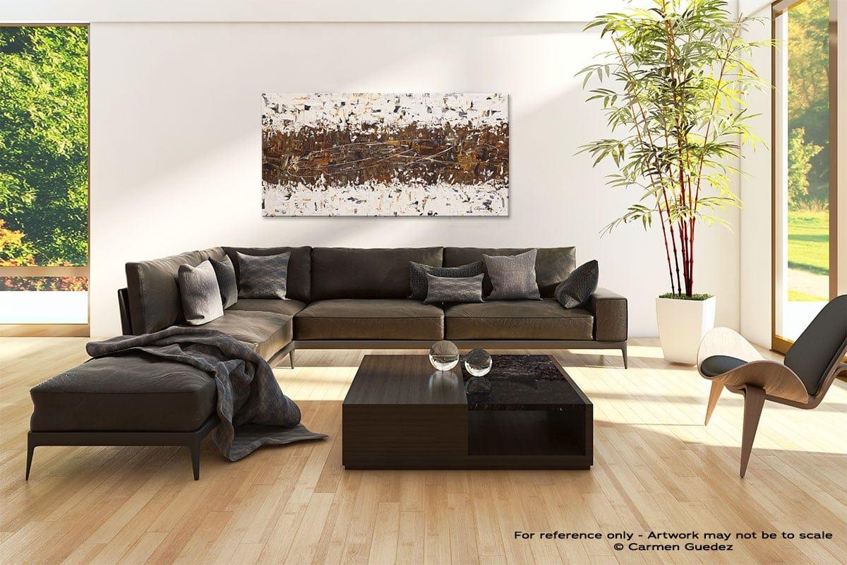 Black Modern Abstract Art Room Id3 Crossover